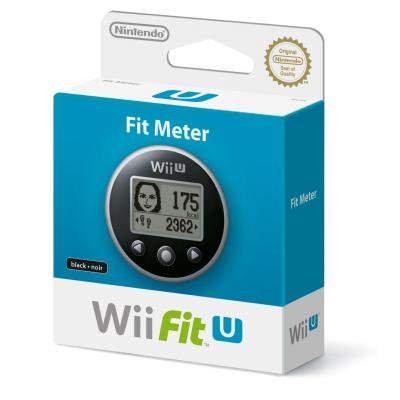 Nintendo spel accessoire: Wii Fit U - Fit Meter - Zwart