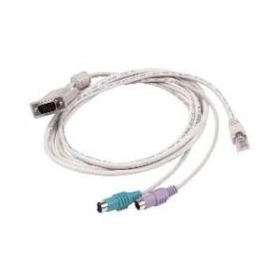 Raritan MCUTP06-PS2 KVM kabel - Wit