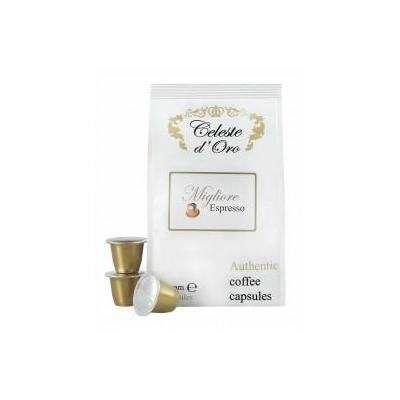 Celeste d'oro koffie: Migliore (Espresso) voor Nespresso® machine 200 capsules