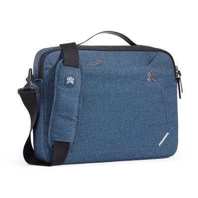 STM Myth Laptoptas - Zwart, Blauw