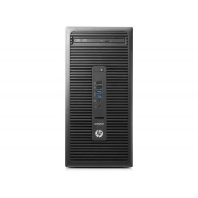 HP pc: EliteDesk 705 G3 MT 8GB 256GB SSD - Zwart