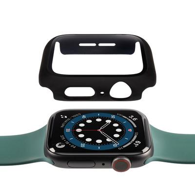 Gecko Apple Watch 4/5/6/SE screenprotector & cover 44 mm - Zwart