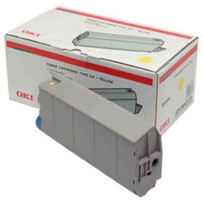 OKI cartridge: Yellow Toner Cartridge C7100/C7300/C7500