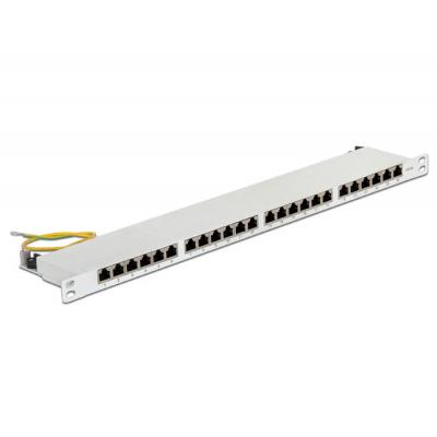 Delock patch panel: 43315 - Wit