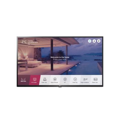 """LG 43"""", 3840 x 2160, DVB-T2/C/S2, HDR 10 Pro/H, webOS 4.5, HDMI, USB, RS-232C, RJ-45 Led-tv - Zwart"""