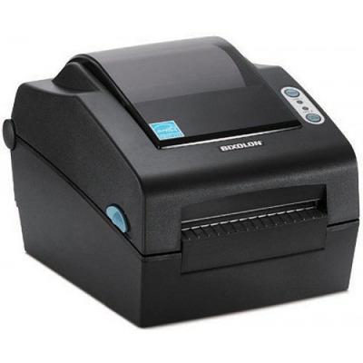 Bixolon 300dpi, 127mm/s, Peeler, Serial, Parallel, USB, Dark Grey Labelprinter - Zwart