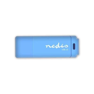 Nedis FDRIU264BU USB flash drive - Blauw