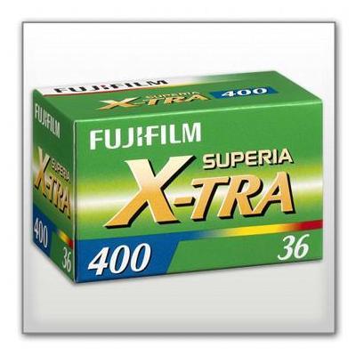 Fujifilm kleurenfilm: 1x3 Superia X-tra 400 135/36