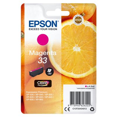 Epson C13T33434012 inktcartridges