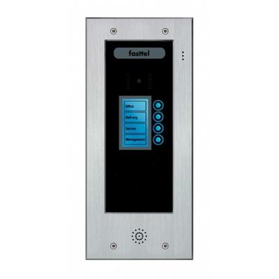 Fasttel deurbel: Wizard Elite FT2504IP - Zwart, Grijs