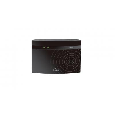D-link wireless router: AC750 - Zwart
