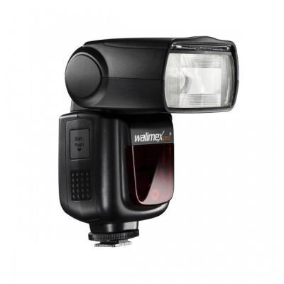 Walimex camera flitser: Speedlite LithiumPower 58 HSS E-TTL II - Zwart