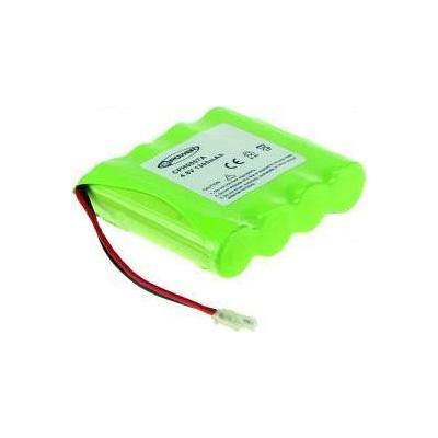 2-power batterij: Rechargeable battery for cordless phone, NiMH, green - Groen