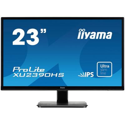 "Iiyama ProLite XU2390HS-B1 23"" Full HD IPS - Desktop Monitor - Zwart"