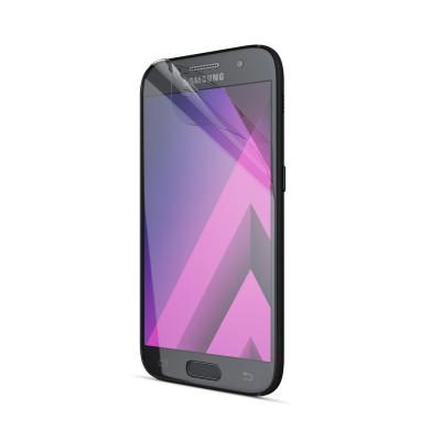 Behello screen protector: Samsung Galaxy A3 (2017) Screen Protector Glossy Transparent - Transparant