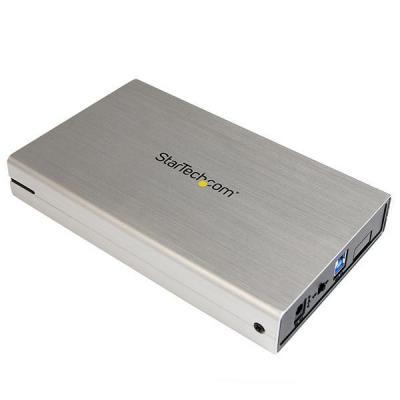 StarTech.com zilveren USB 3.0- SSD harde-schijfmet UASP -draagbare externe HD Behuizing