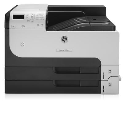HP LaserJet Enterprise 700 M712dn Laserprinter - Zwart, Grijs