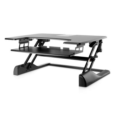 V7 : Sit-Stand Desktop Workstation - Zwart