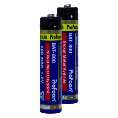 Profoon BAT-800 DECT Rechargeable NiMH AAA 800 mAh (25 stuks) Batterij