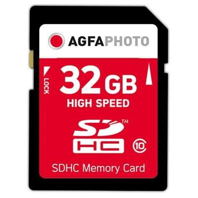 AgfaPhoto 32GB SDHC Flashgeheugen - Multi kleuren