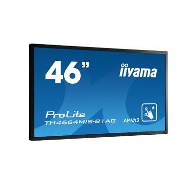 Iiyama touchscreen monitor: ProLite TH4664MIS-B1 AG - Zwart