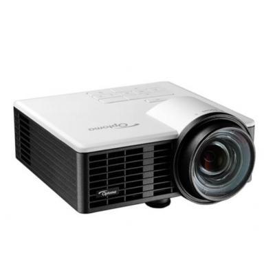 "Optoma beamer: ML750ST, WXGA 1280 x 800, 20,000:1, LED, 63.5 cm (25 "") - 200"", 16:10, HDMI, VGA, microSD, USB - Zwart"