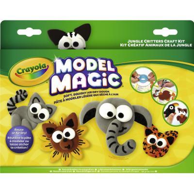 Crayola kinder modellering verbruiksartikel: Hobbyset Boetseerklei Jungle - Multi kleuren