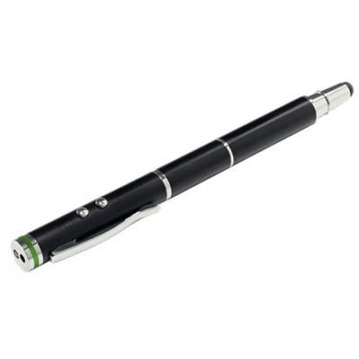 Esselte stylus: Stylus pen 4 in one Leitz Complete for touchscreen devices, Black - Zwart