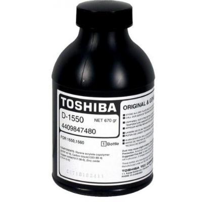 Toshiba ontwikkelaar print: Black Developer for 1550, 1560 - Zwart