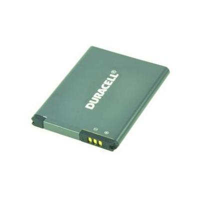 Duracell batterij: 3.85V, 1450mAh, 5 Wh - Zwart
