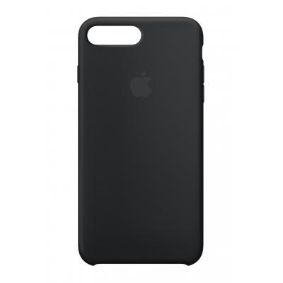 Apple mobile phone case: Siliconenhoesje voor iPhone 8 Plus/7 Plus - Zwart