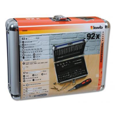 Kwb POWER BOX, 92-pcs. Screwdriver bit