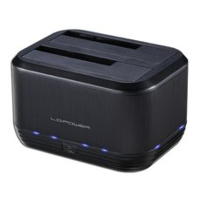 Lc-power HDD/SSD docking station: LC-DOCK-U3-III - Zwart