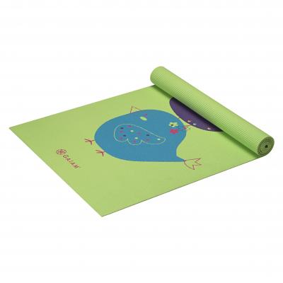 Gaiam fitness, gymnastiek & gewichtstraining: Kids - Yogamat - 3mm - Birdsong