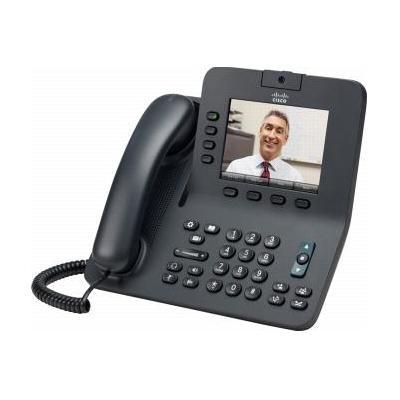 Cisco IP telefoon: 8945 - Zwart (Refurbished LG)