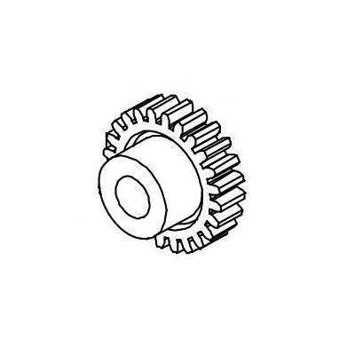 Datamax o'neil printing equipment spare part: (10PK) Gear Spur 24t for H-Class / M-Class Mark II
