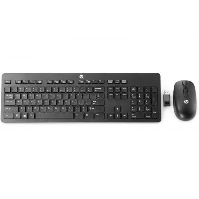 Hp toetsenbord: Wireless Business Slim Keyboard - Zwart, QWERTY