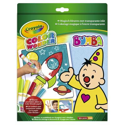 Crayola kleurplaat en boek: Color Wonder - Box set Bumba