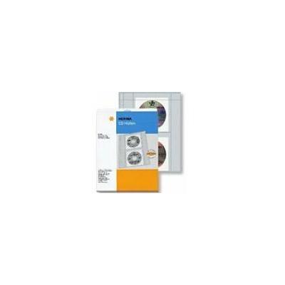 Herma album: CD pockets made of transparent film incl. paper pockets 10 p