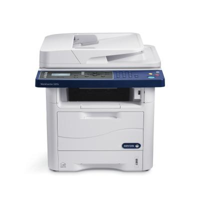 Xerox multifunctional: WorkCentre 3315 - Blauw, Wit