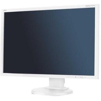 NEC MultiSync E245WMi Monitor - Wit