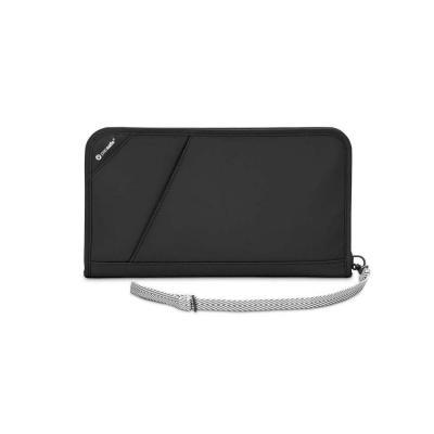 Pacsafe portemonnee: V200 - Zwart