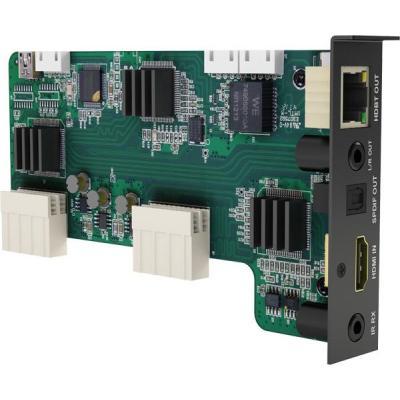 WyreStorm HBaseT Out, Audio breakout, HDMI In, IR In Digitale & analoge i/o module - Zwart, Groen