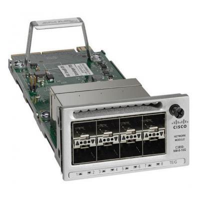 Cisco Catalyst 3850 8 x 10GE Network Module Netwerkswitch modules