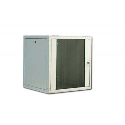 "Digitus rack: SoHo Line 12U 19"" Wall Mounting Cabinet - Grijs"