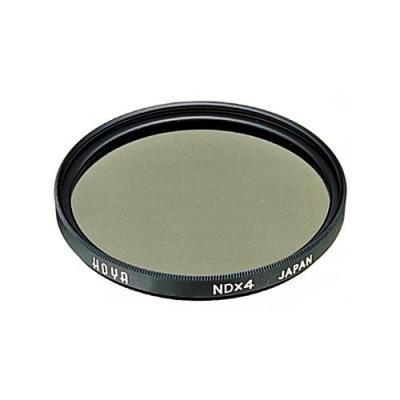 Hoya camera filter: NDx4 72mm - Zwart, Grijs