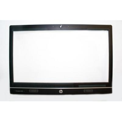 Hp montagekit: Front bezel assembly - From model with web camera - Includes web camera lens, shutter bar, capacitive .....