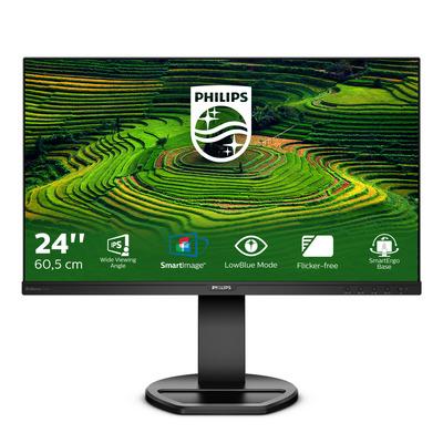 Philips B Line 241B8QJEB Monitor - Zwart