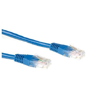 Ewent 1.5m Cat6 UTP Netwerkkabel - Blauw