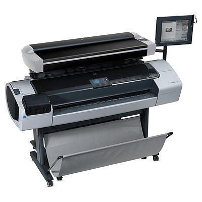 Hp grootformaat printer: Designjet T1200 HD Multifunction Printer